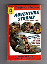 THE ARGOSY BOOK OF ADVENTURE STORIES - VINTAGE USA  BANTAM P/BACK- 1953