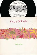 Kids In The Kitchen Orig Oz Ps 45 Change in mood Nm '83 K9220 New wave synth pop