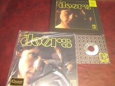 THE DOORS S/T STEREO 45 SPEED + 50TH ANNIVERSARY CD & MONO LP SET + 45 SINGLE