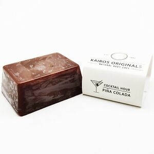 Pina Colada - coconut oil - Handmade Natural Vegan Soap Bar - Kairos Originals