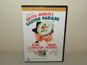 Easter Parade (DVD) Judy Garland - Fred Astaire - Region 4