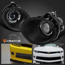 2014-2015 Chevy Camaro 3.6L V6 Clear Projector Bumper Driving Fog Lights
