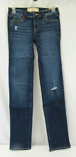 New Hollister Blue Skinny Jeans Women's Size OL Waist 24 Length 34