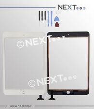TOUCH SCREEN Per Apple iPad Mini 1 A1432 A1454 A1455 WiFi 3G bianco + kit