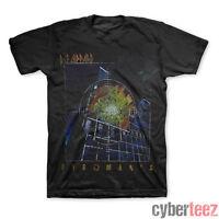 DEF LEPPARD T-Shirt Pyromania BLACK New Authentic Vintage Distressed S M L XL