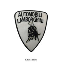 Lamborghini Car Brand Logo Embroidered Patch Iron on Sew On Badge For Clothe etc