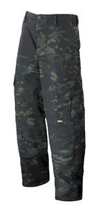 MultiCam Black Camo ACU Tactical Response Uniform Pants by TRU-SPEC 1236