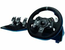 Logitech G920 Driving Force Racing Steering Wheel for for Xbox One & PC ✔NEW✔