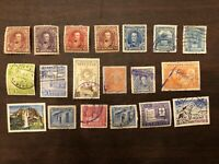 Venezuela - Early Estate Collection Older Lot Set Of 19 Used Unused Stamps (GS)