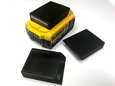 3x STEALTH Montures Batterie Housse protecteurs pour Dewalt XR 18V 20V outil