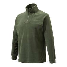 Beretta Half Zip Light Fleece in Green P3311