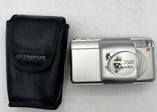 Olympus Superzoom 80G 35mm Compact Camera 38-80mm Lens+Case AF Tested Working