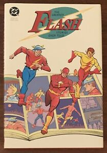 The Greatest Flash Stories Ever Told DC Comics HC Nm
