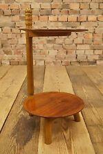 60er teca Table mesa auxiliar mesa mid CENTURY Design 60s Vintage