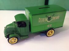 John Deere & Company ERTL Die-Cast 1926 Mack Bull Dog Truck, Coin Bank