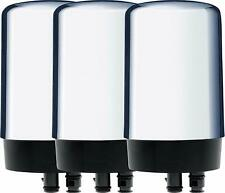 BRITA 36314 / FR-200 FAUCET REPLACEMENT FILTERS 3 FILTERS CHROME BPA FREE