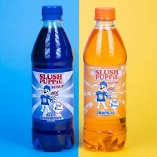 Slush Puppie Syrup 2 Pack Blue Raspberry & Tropical- New Flavour!