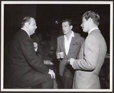 Producer JERRY WALD Robert Wagner STEPHEN BOYD Vintage Orig Photo 8x10 CANDID