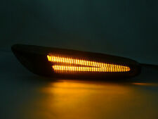 DEPO 06-12 BMW E90/E92 3 SERIES AMBER LIGHT BAR LED SMOKE SIDE MARKER LIGHTS NEW