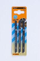 Poggi 698.00 3 lame per seghetto alternativo per legno denti medi 65 mm