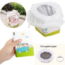 New Kids Potty Training Travel Foldable Portable Toddler Toilet Safe Seat Car Us