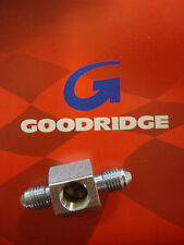 GOODRIDGE REAR BRAKE LINE TEE AN-3 HYDRAULIC BIG DOG HARLEY AIH CUSTOM