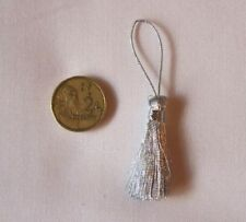 Unbranded Silver Sewing Tassels