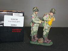 King and country DD268-1 Estados Unidos 101ST Airborne Paracaidista conjunto de 82ND de verificación final