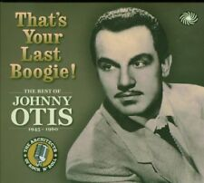 Johnny Otis - Thats Your Last Boogie [CD]