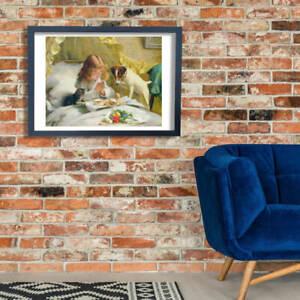 Charles Burton Barber - Suspense Wall Art Poster Print