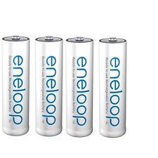 4x baterías sanyo Panasonic Eneloop AA 2000 mah nueva generación 2100 ciclos de carga!