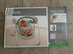Ingenuity 60194 - Cozy Kingdom Portable Swing