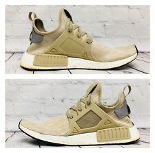 Adidas NMD XR1 PK Primekint Linen Khaki Tan Size 9.5 S77194 Ultra Boost Sneakers