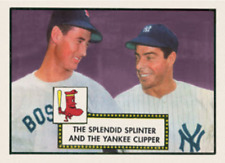 TED WILLIAMS JOE DIMAGGIO 52 ACEO ART CARD ## BUY 5 GET 1 FREE ## COM SHIPPING