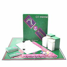 Go Mental Board Game The Game Of Impropable Connections HL Games 1997 FREE Post