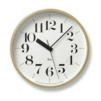 Lemnos RIKI CLOCK WR07-11 Wall Clock Tracking Number 4515030072492
