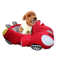 Pet Car Bed Kennel Nest Luxury Dog Cat Nest Puppy Warm Cushion Small Dog House