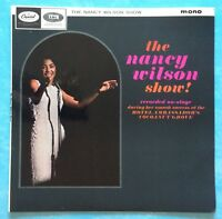 NANCY WILSON ~ THE NANCY WILSON SHOW! ~ 1965 UK 9-TRACK MONO VINYL LP RECORD