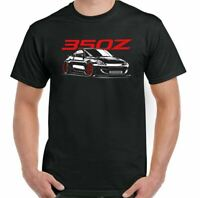 Nissan 350Z T-Shirt Mens Inspired Fan Car Enthusiast Parts Top