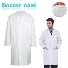 Laborkittel Herren weiß Labor Medizin Kittel Mantel Arztkittel Arbeitskittel NEU