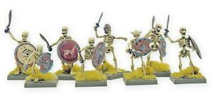 6x Skeleton Warriors D&D DnD Frostgrave Pathfinder Miniatures RPG