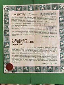Original Vintage Rolex Watch 16233-C119994 Used   Certificate Guarantee R
