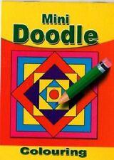 Childrens Mini DOODLE Colouring Books 44 Designs per Book Party Favour 3095