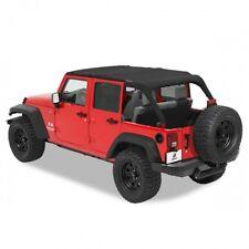 Jeep Wrangler JK 4türer Safari Bikini Top Cable-Style Black Diamond Bestop 10-17