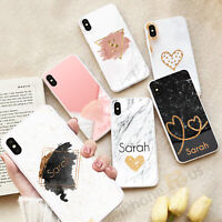 For Samsung S20 A21s S10 J4 Plus A40 S20 FE Marble Personalised Phone Case 114