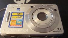 Sony Camera ~ DSC-W55 ~ With Battery ~ Zeiss Lens ~
