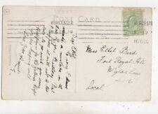 Miss Ethel Bird Fort Royal Hill Wylas Lane Worcester 1911 658b