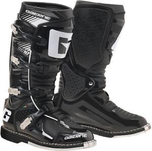 Gaerne SG-10 MX Boots Black Premium Off-road Enduro BMX MTB Protection All Sizes