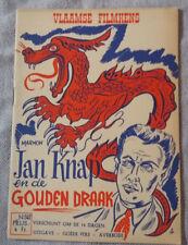 Vlaamse Filmkens N°302 Jan Knap en de Gouden Draak Jean Ray John Flanders