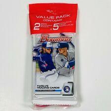 (1) 2020 Topps Bowman Baseball Value Cello Hanger Pack 29 Cards-New Sealed!